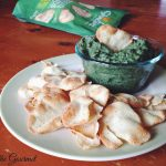 Spinach Cannellini Dip featuring Stonefire Naan Crisps