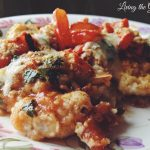 Boneless Chicken Thighs with Fresh Tomato Parmesan