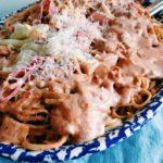 Creamy Tomato Sauce and Spaghetti