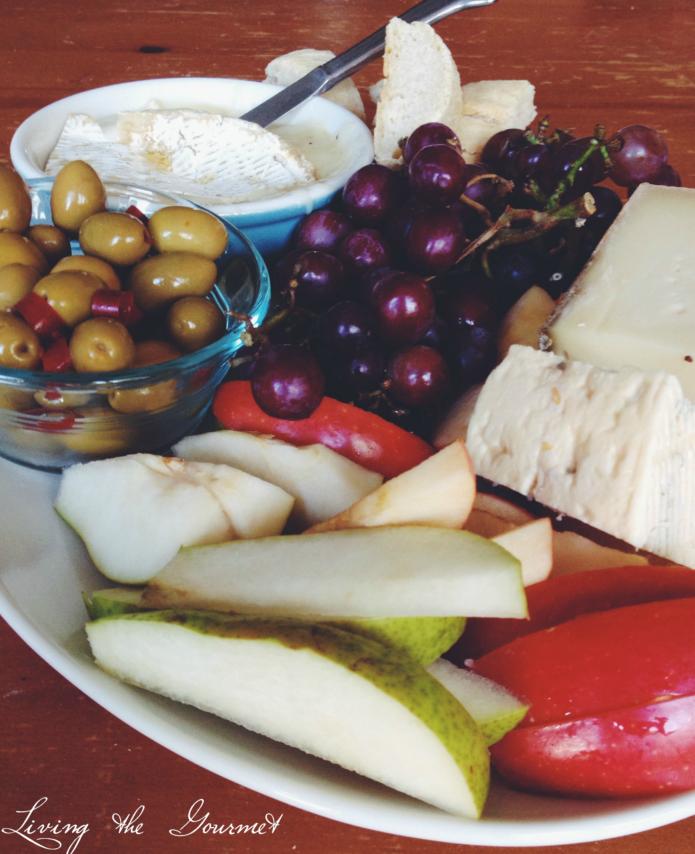 European Cheese Platter