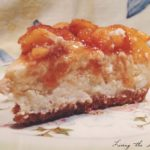 Cheesecake with Fresh Peach Topping