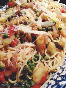 Spaghetti with Fresh Zucchini