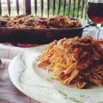 Zucchini and Spaghetti Lasagna