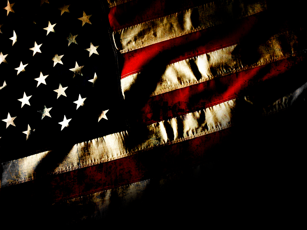 American Flag Dark Wallpaper Wallpapers Plain