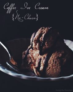 Coffee Ice Cream {No-Churn}