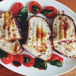 Zucchini & Asiago Cheese Panini with Cannellini Spread