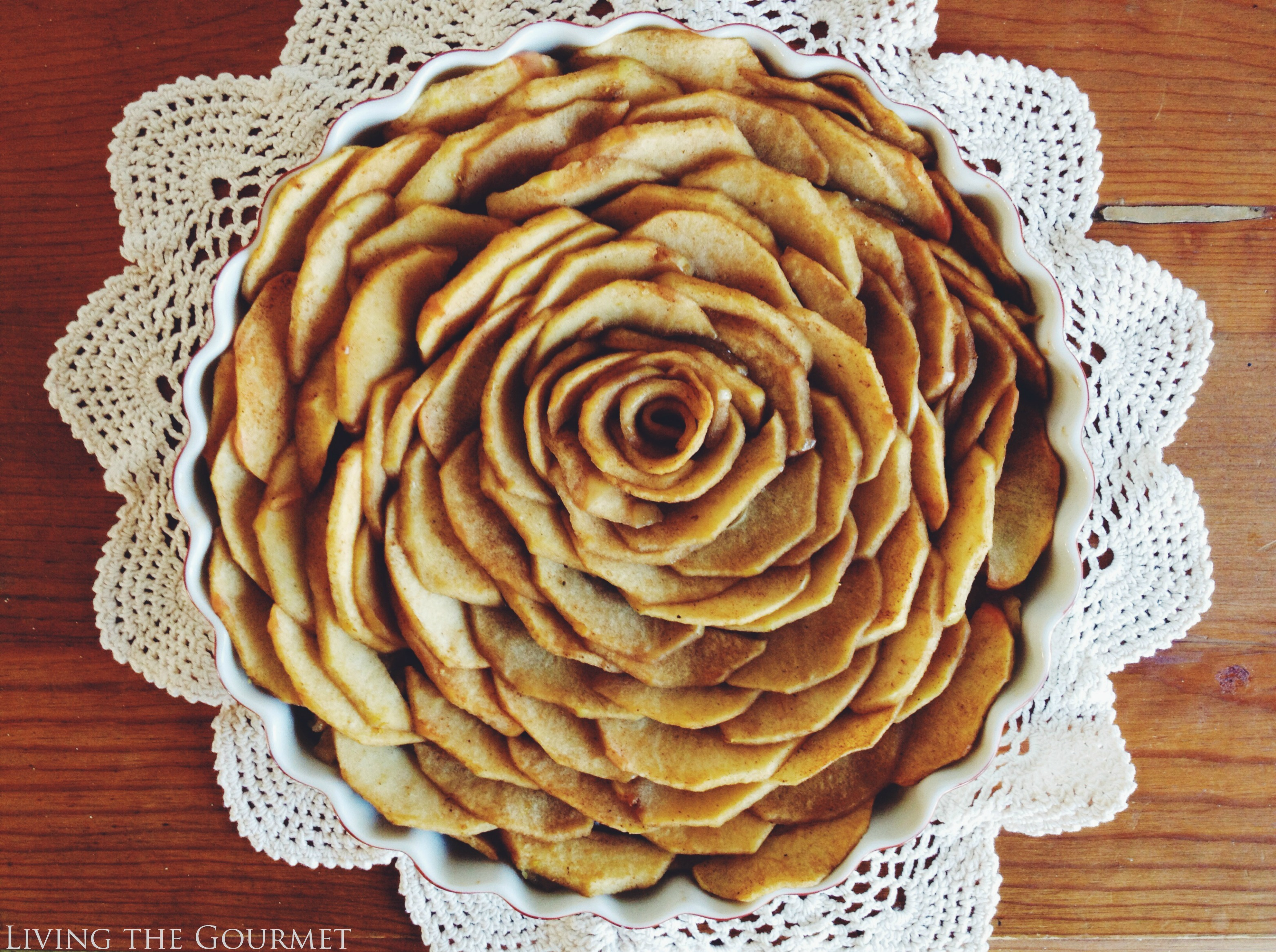 Living the Gourmet: French Apple Tart