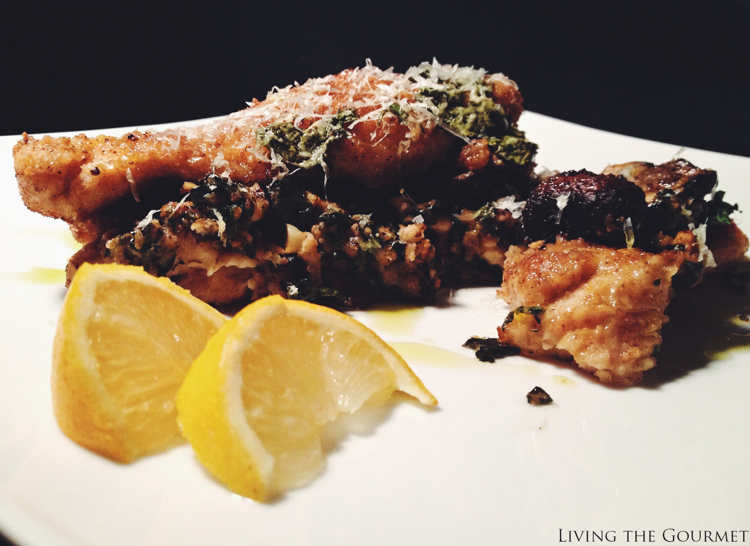 Living the Gourmet: Greek Style Chicken Cutlet Bake