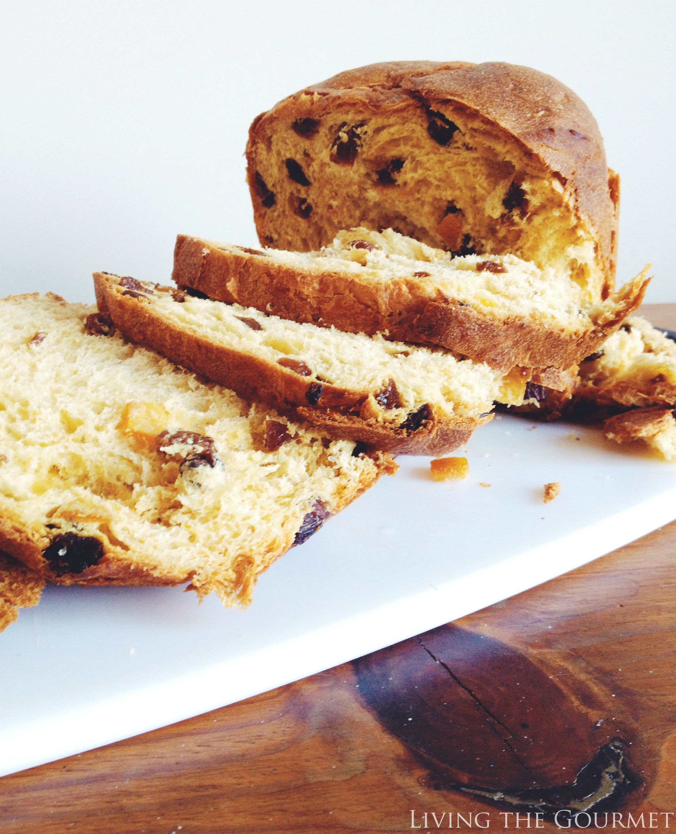 Living the Gourmet: Panettone French Toast