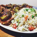 Chicken with  Peppers & Rice