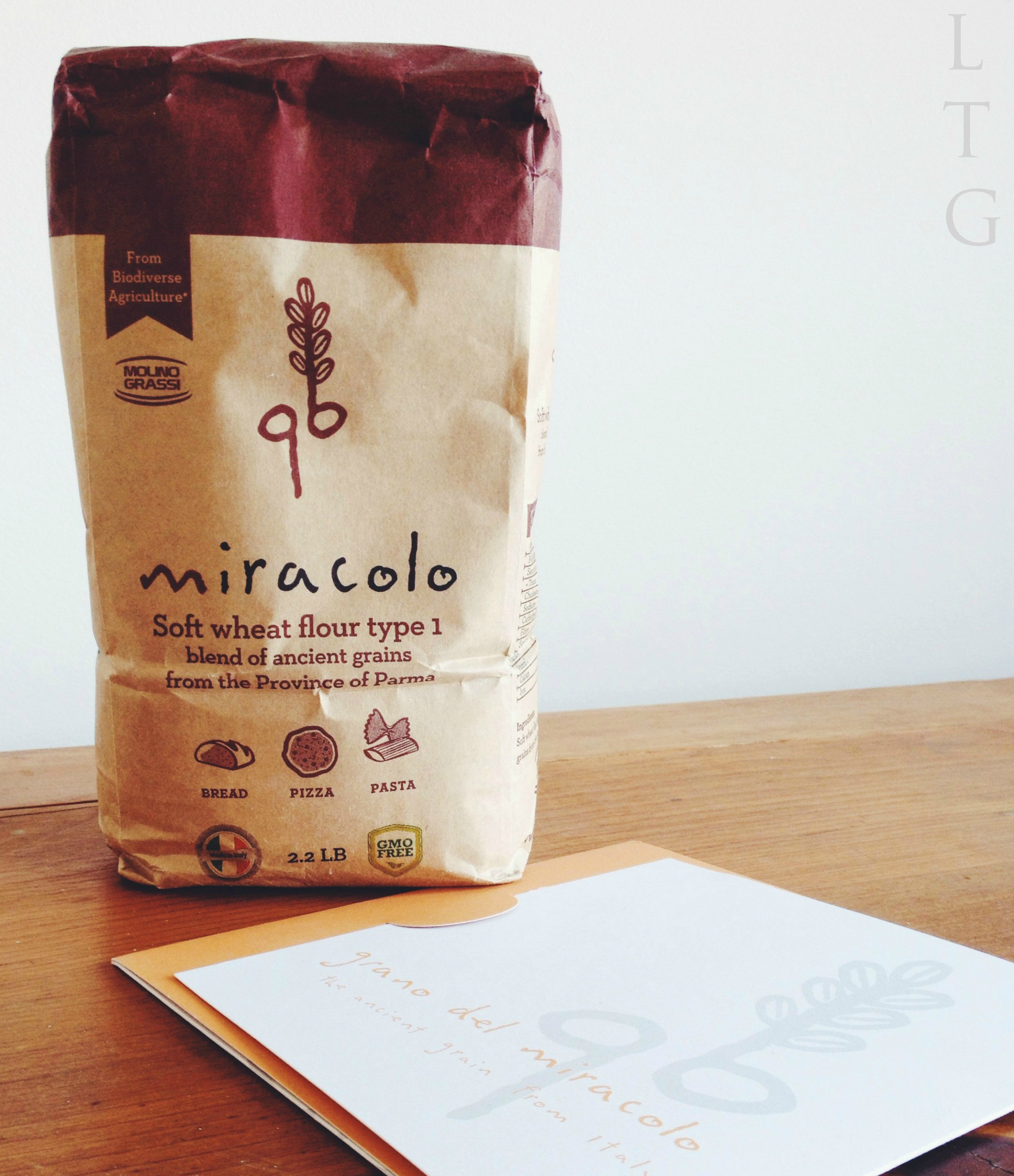 Living the Gourmet: Focaccia featuring Grano del Miracolo