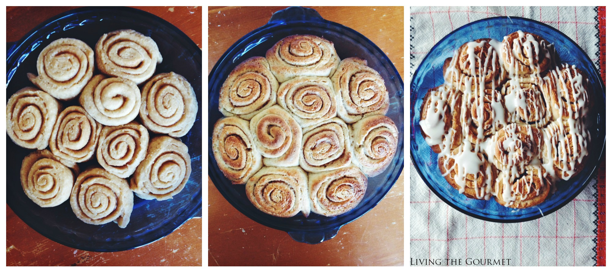 Living the Gourmet: Easy Cinnamon Rolls {with cakemix}