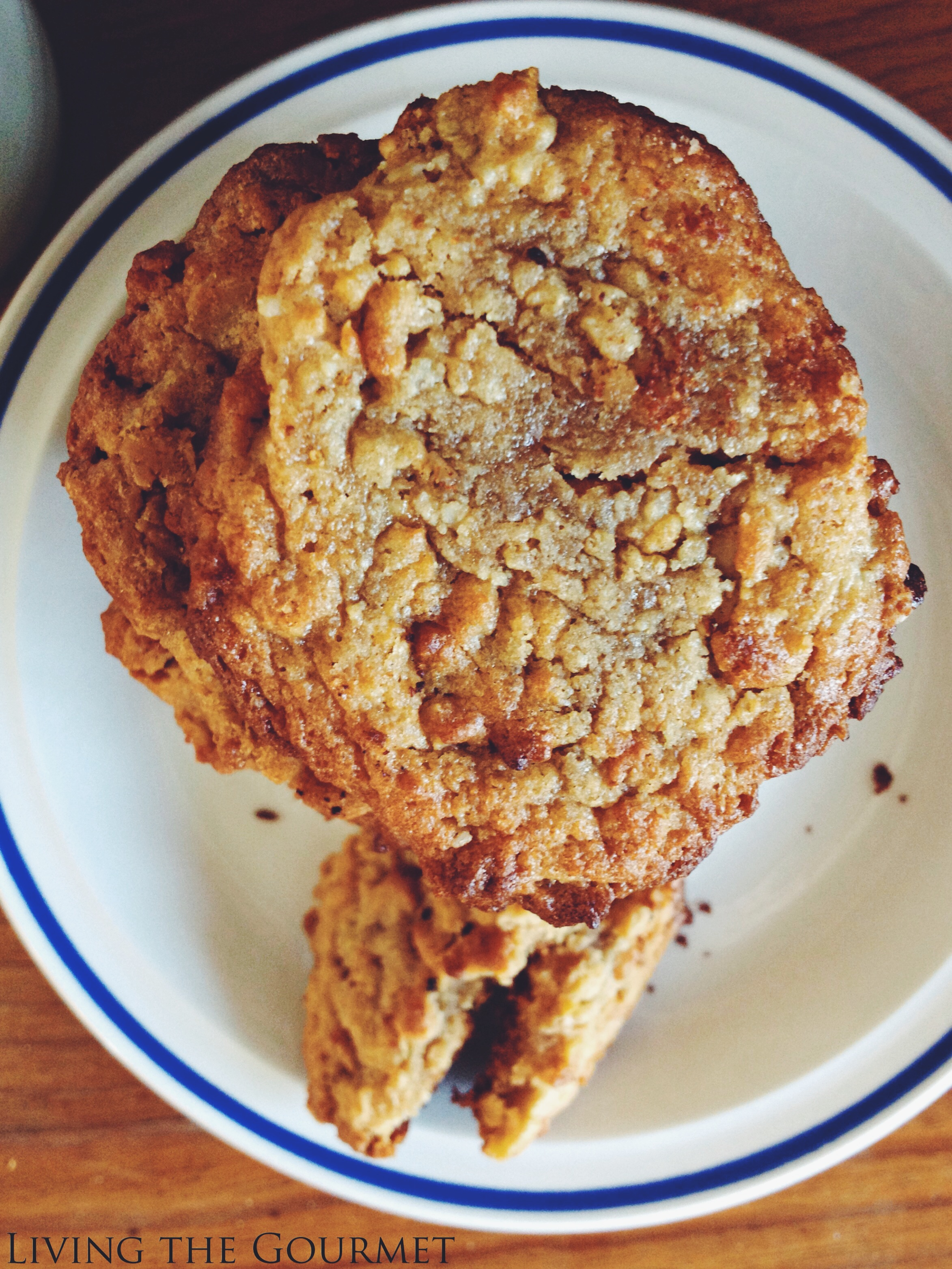 Living the Gourmet: Flourless Peanut Butter Cookies