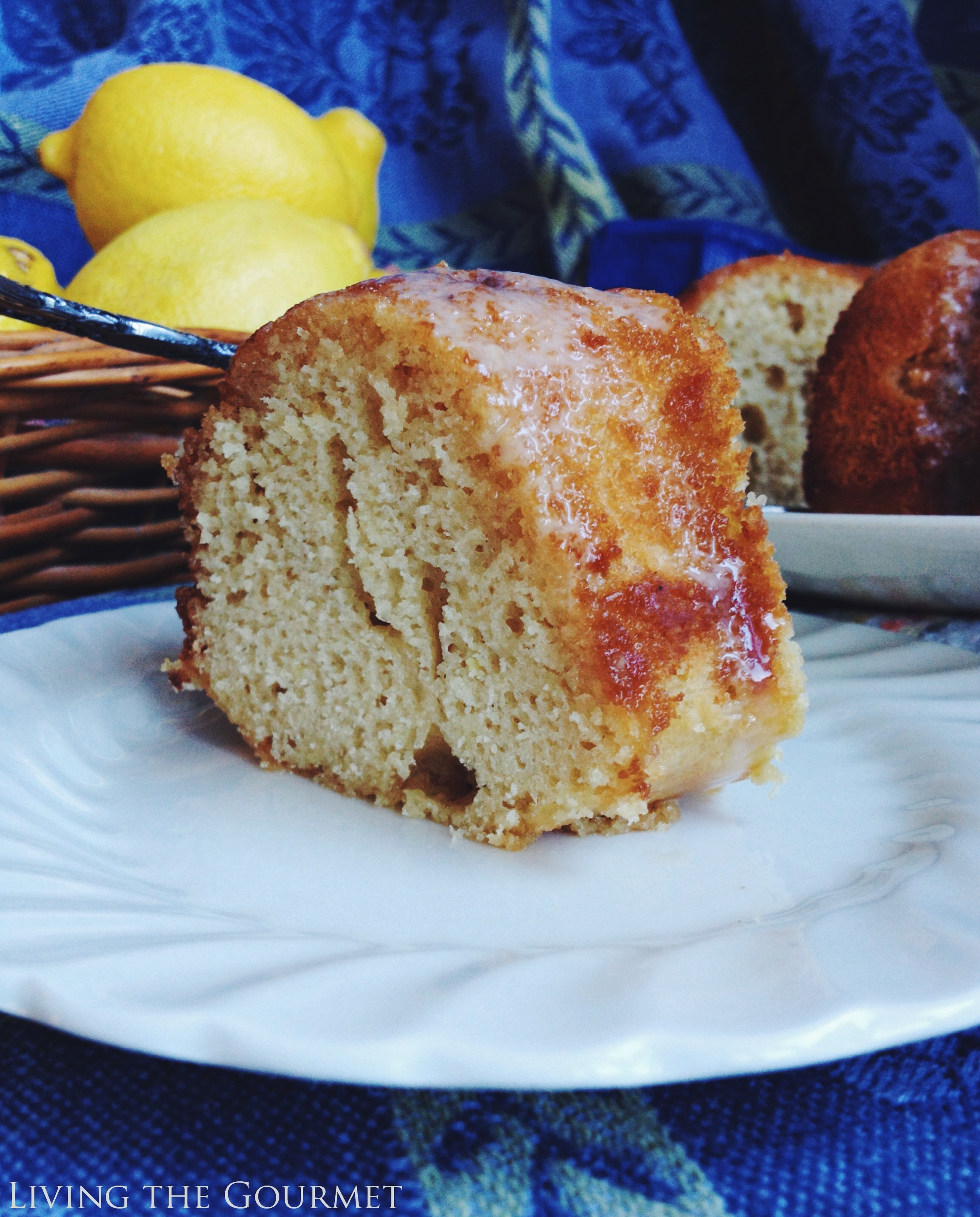 Living the Gourmet: Lemon Rum Bundt #BundtBakers