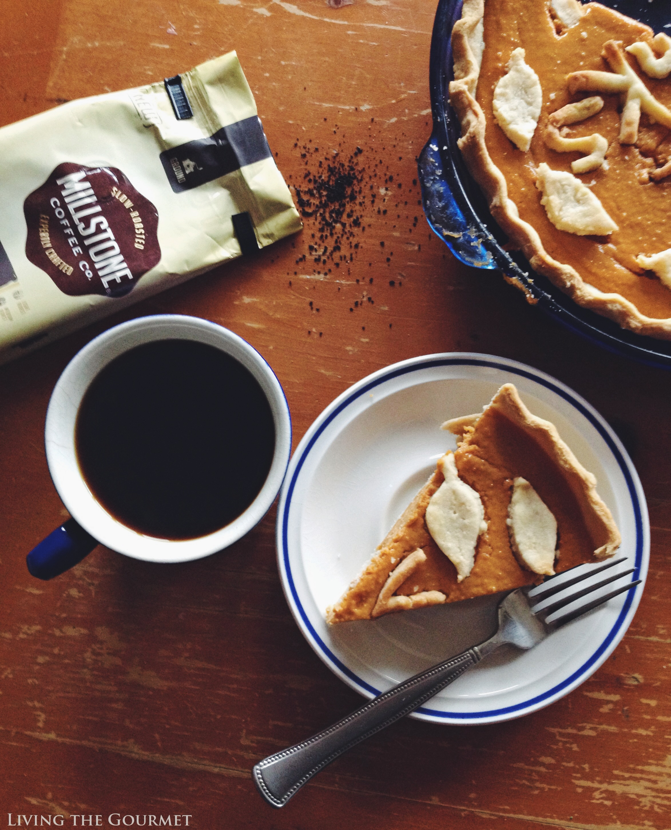 Living the Gourmet: Sweet Potato Rum Pie