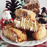 Cake Mix Biscotti w/ Craisins & White Chocolate