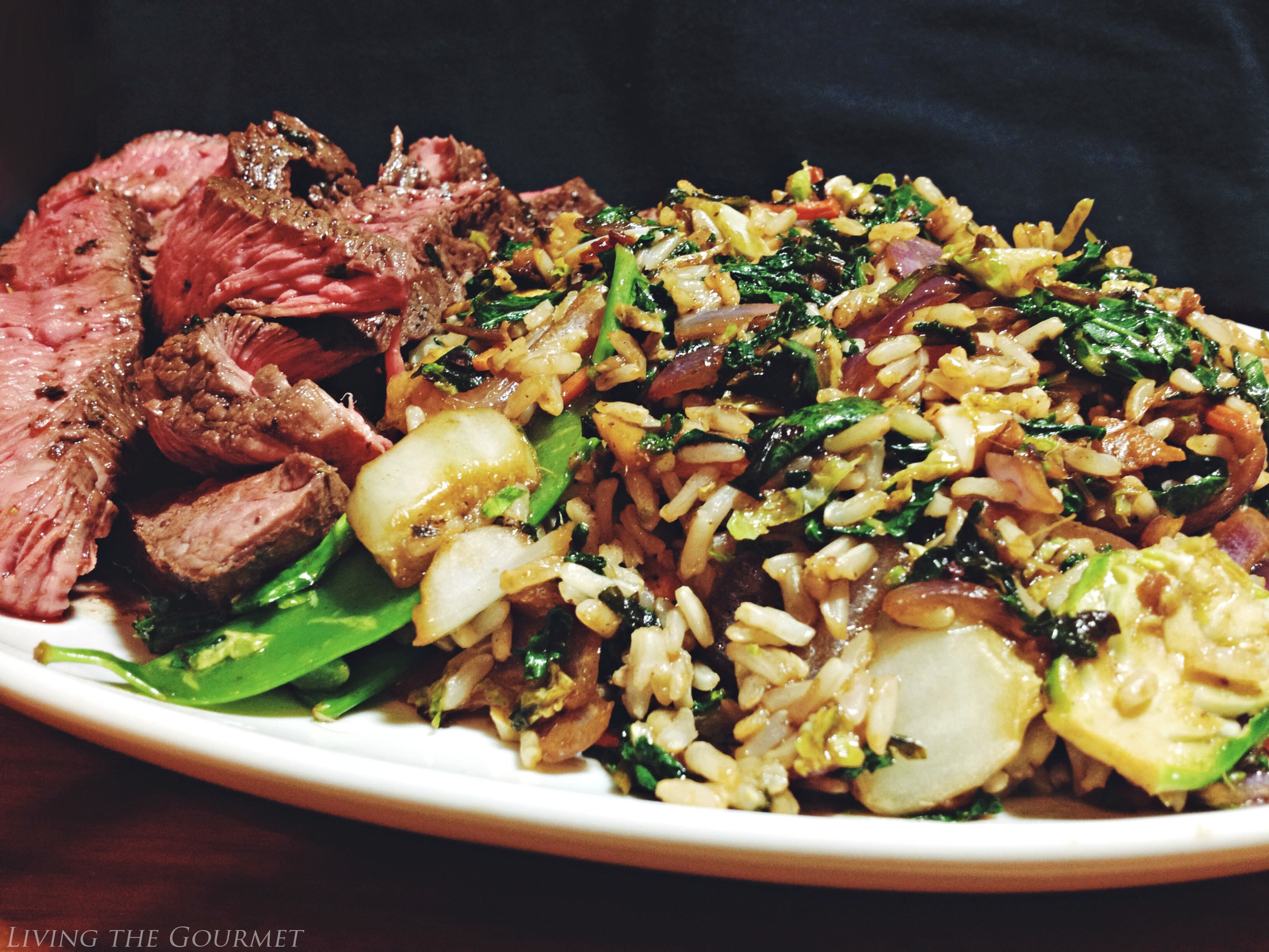 Living the Gourmet: Eat Smart®: Salad Kits Shanghai Blend Stir Fry Kit