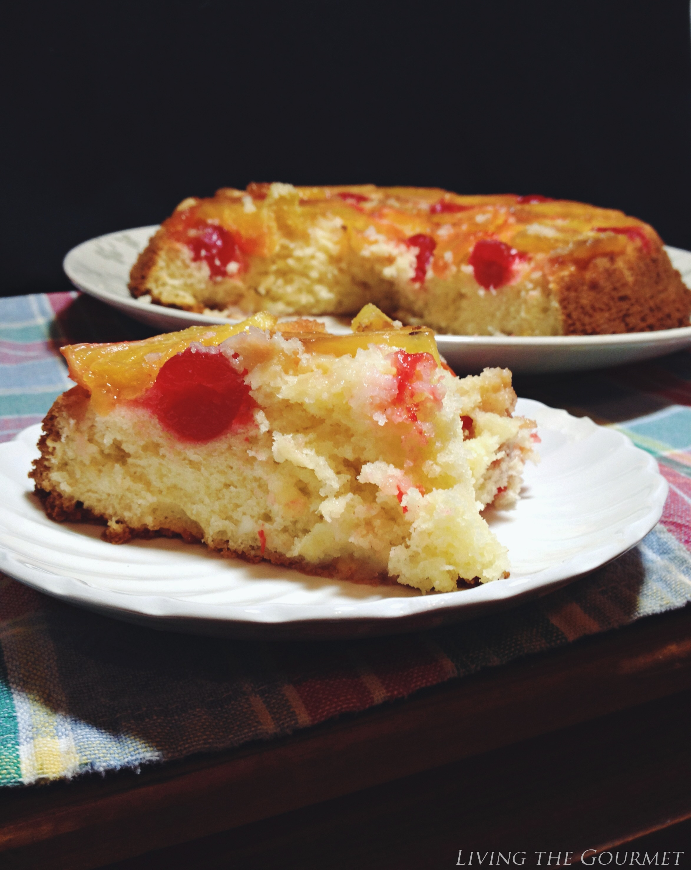Living the Gourmet: Pineapple Upside-Down Cake