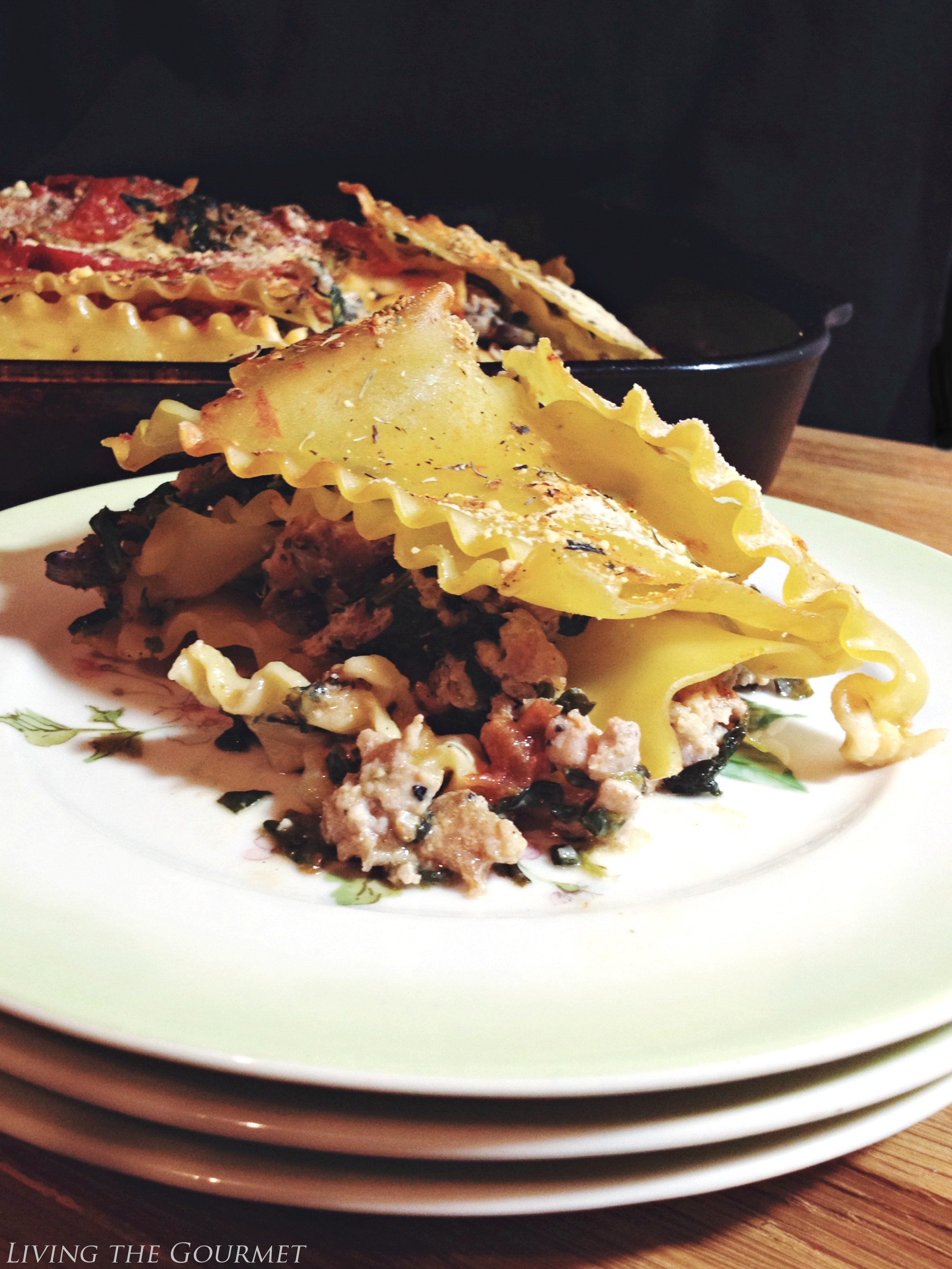 Living the Gourmet: Simple Lasagna