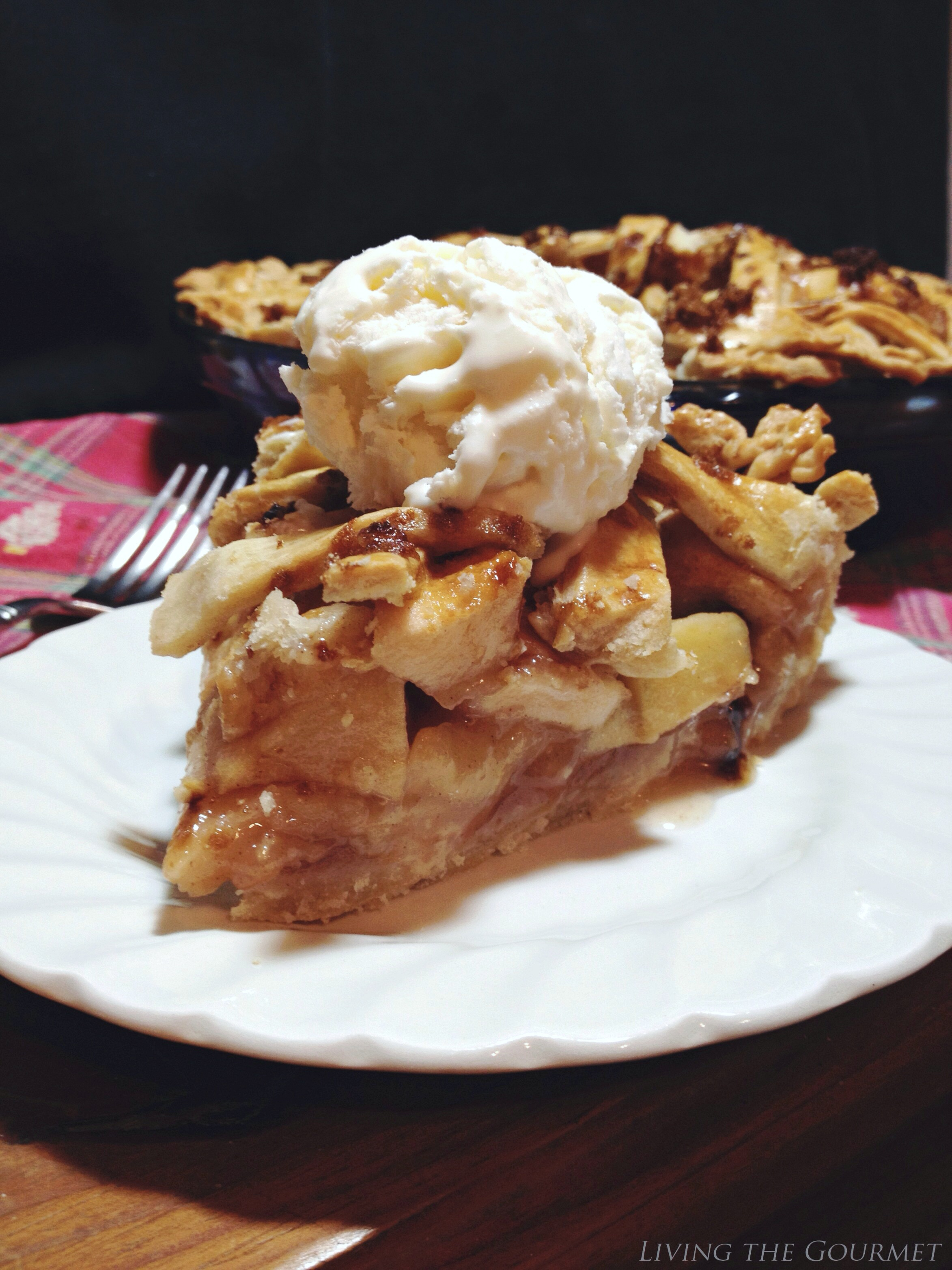 Living the Gourmet: Apple Brandy Pie