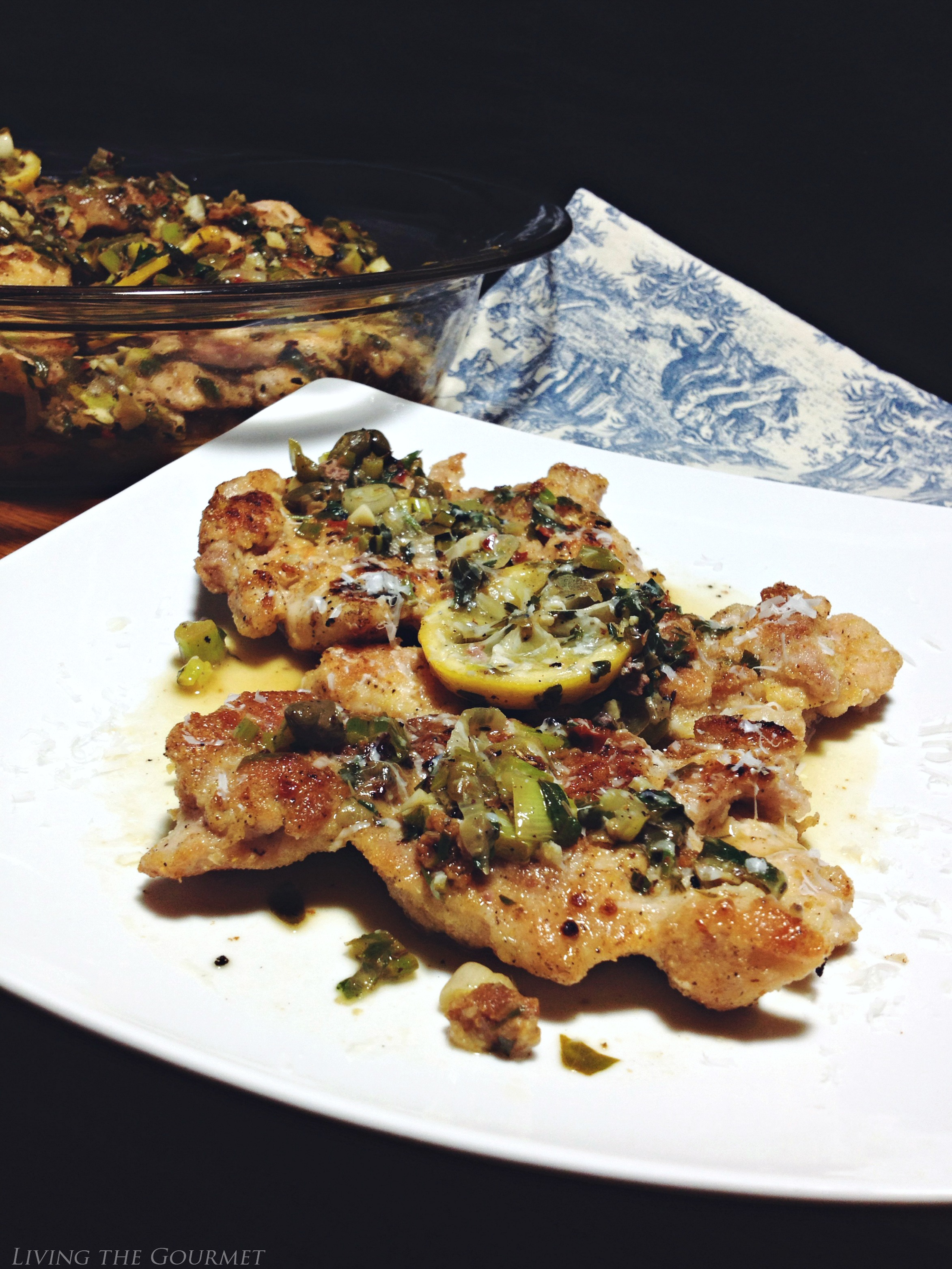 Living the Gourmet: Lemon Chicken Piccata