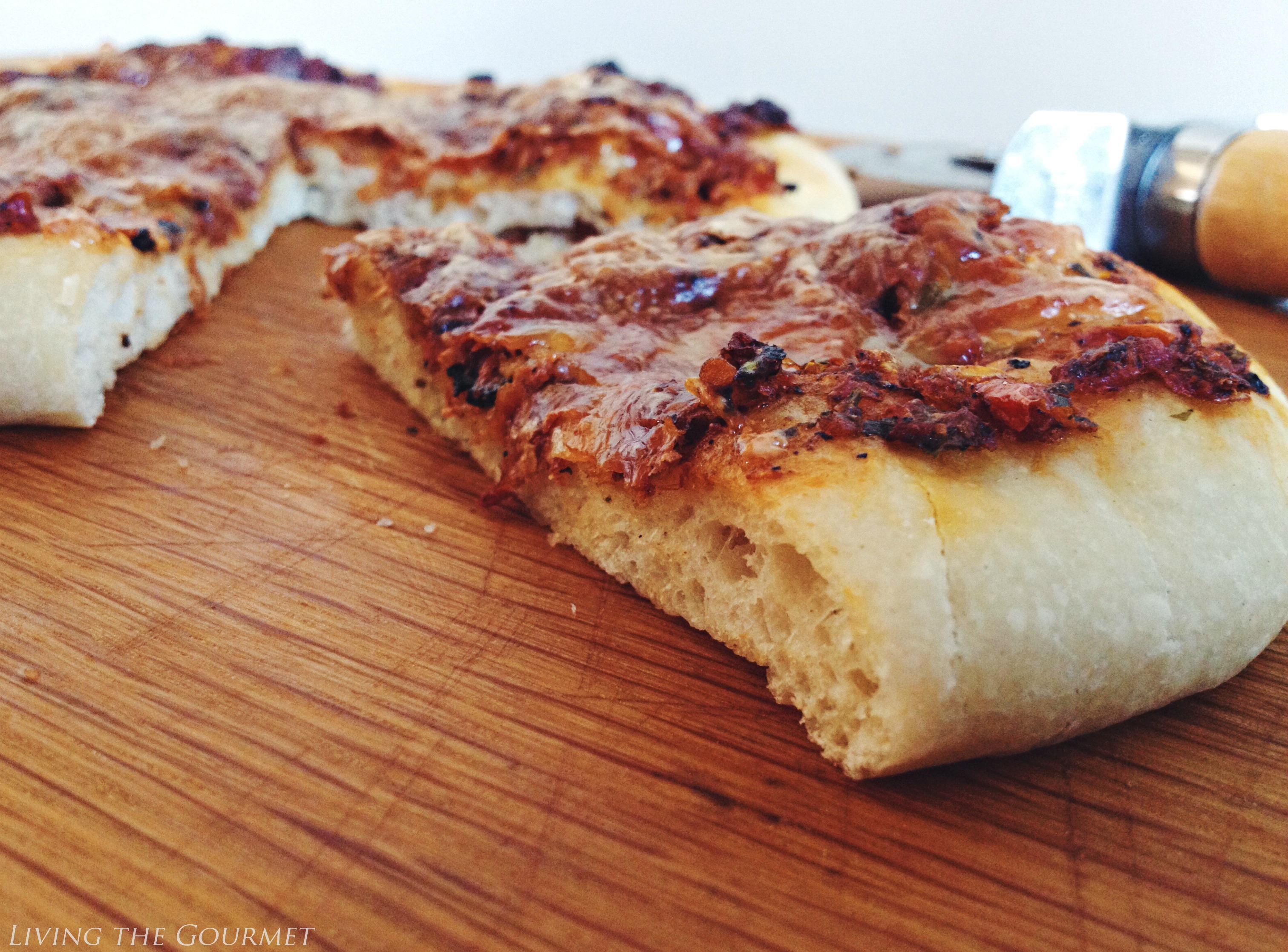Oven Roasted Tomato Pizza