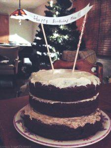 Triple Layer Zucchini Chocolate Cake