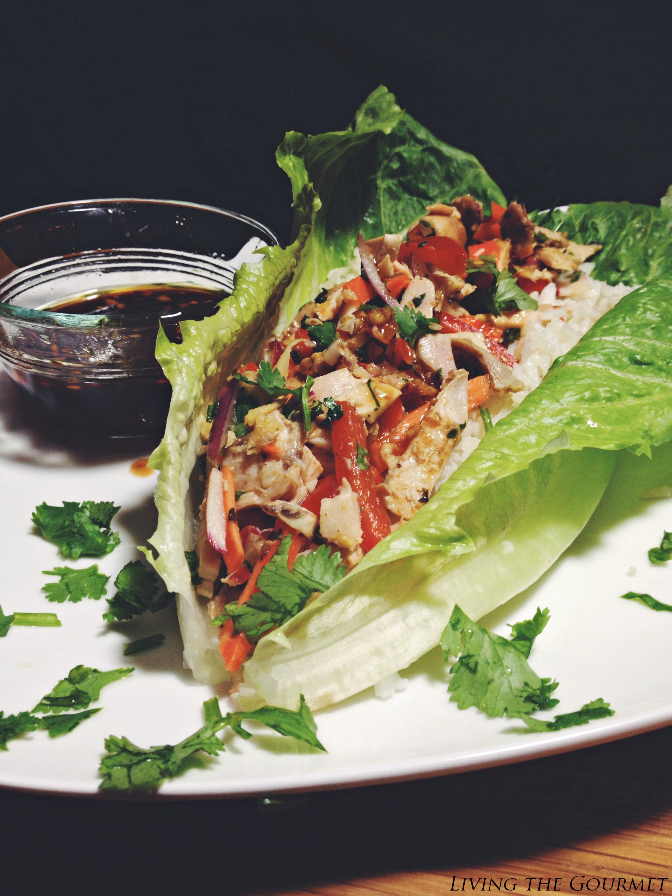Living the Gourmet: Asian Style Chicken Salad