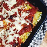 Sweet Meatless Lasagna Roll-Ups