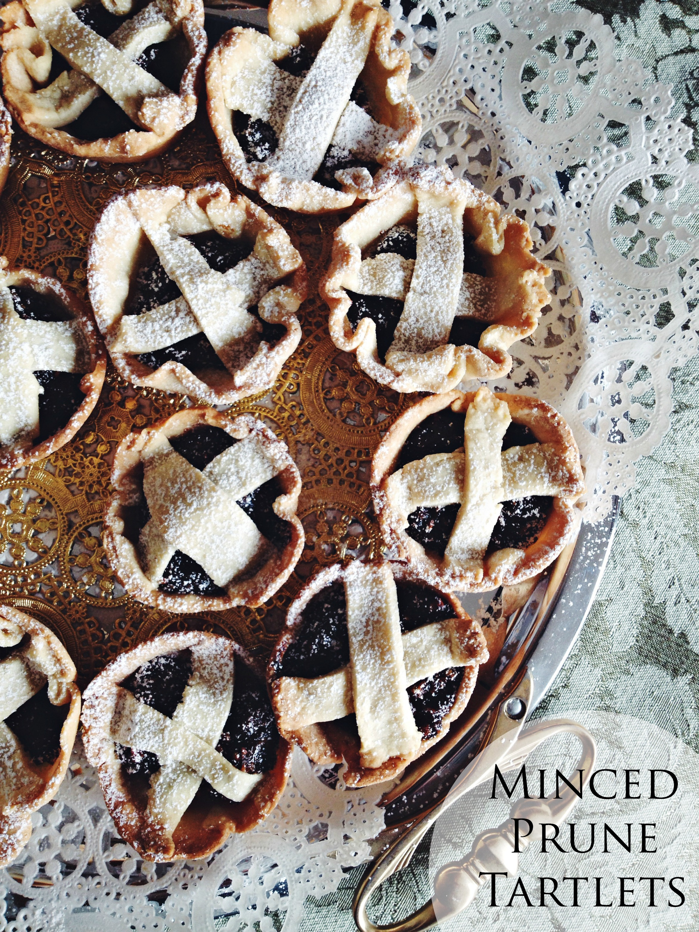 Living the Gourmet: Minced Prune Tartlets