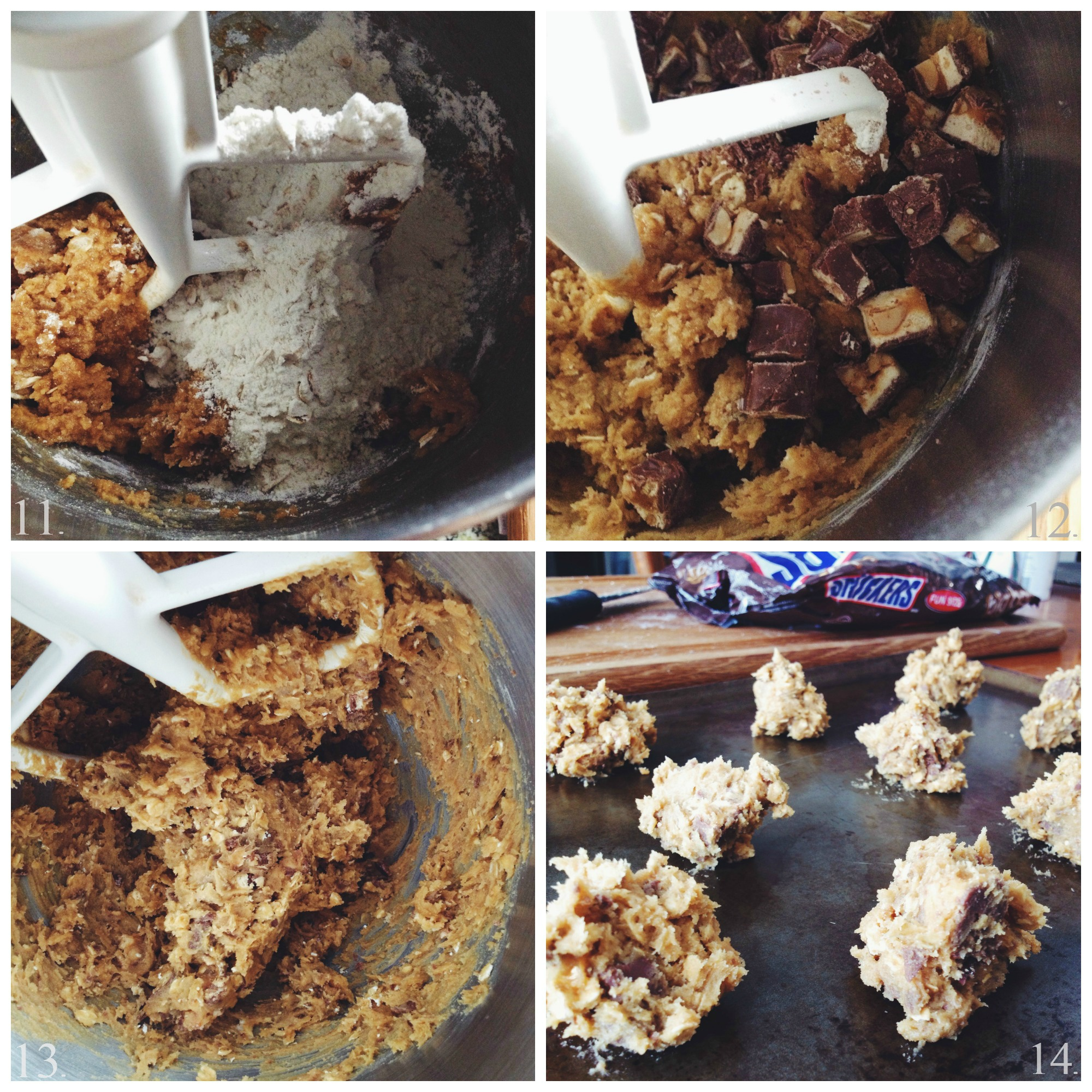 Living the Gourmet: SNICKERS Cookie Crisps
