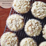 White Chocolate & Strawberry Muffins