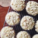 White Chocolate & Strawberry Muffins