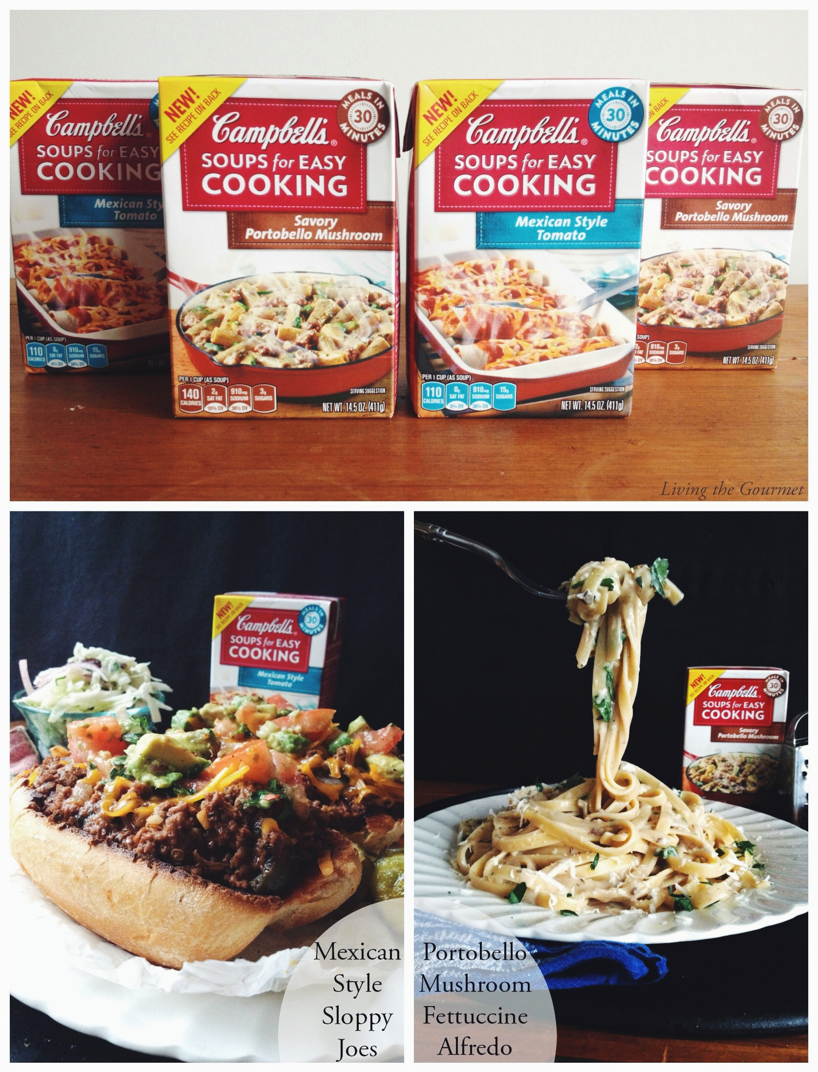 Living the Gourmet: 30 minute Weeknight Meals