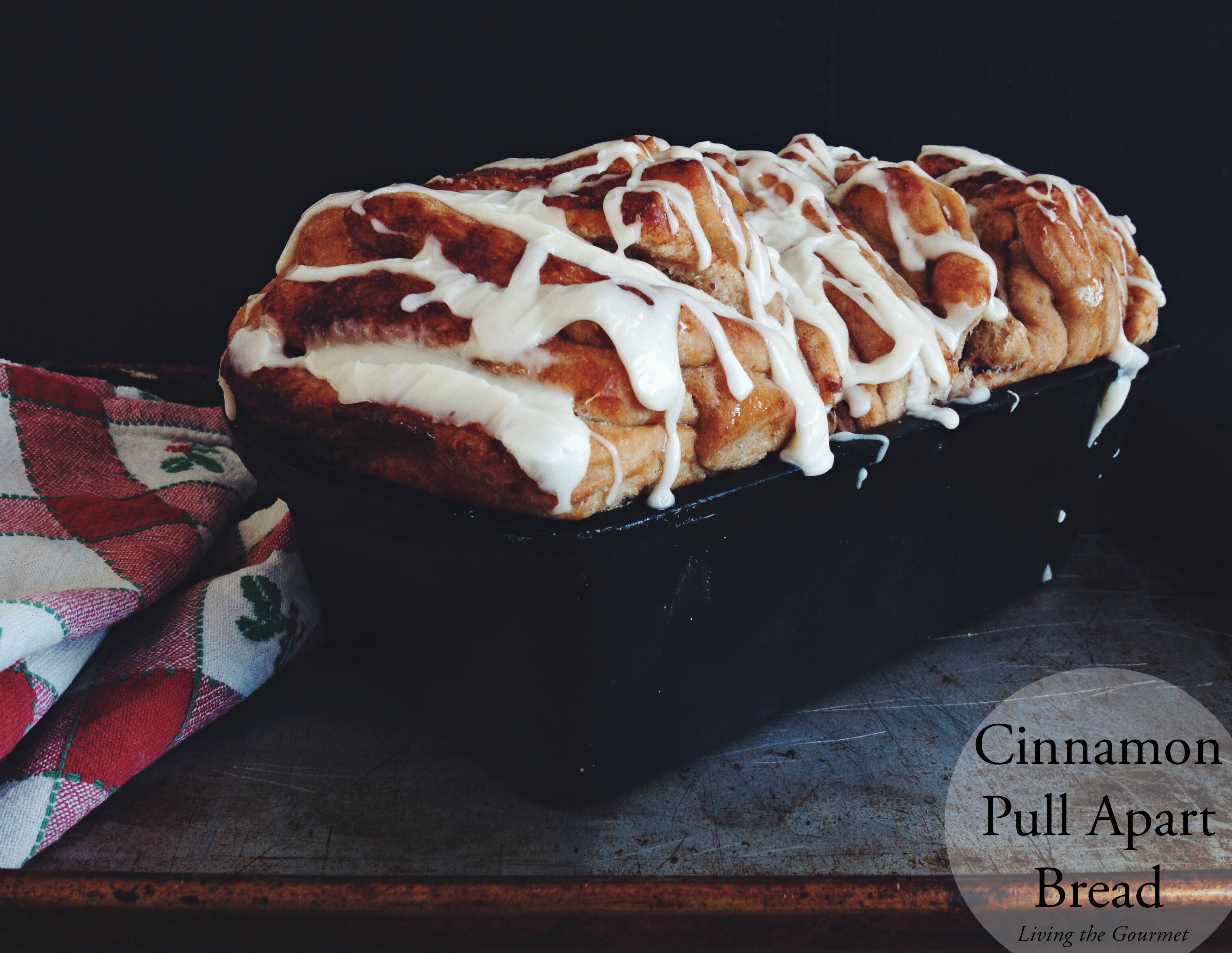 Living the Gourmet: Cinnamon Pull Apart Bread