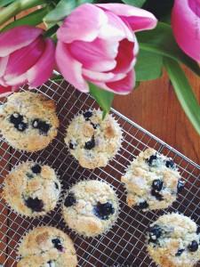 March #SecretRecipeClub- Easy Blueberry Muffins