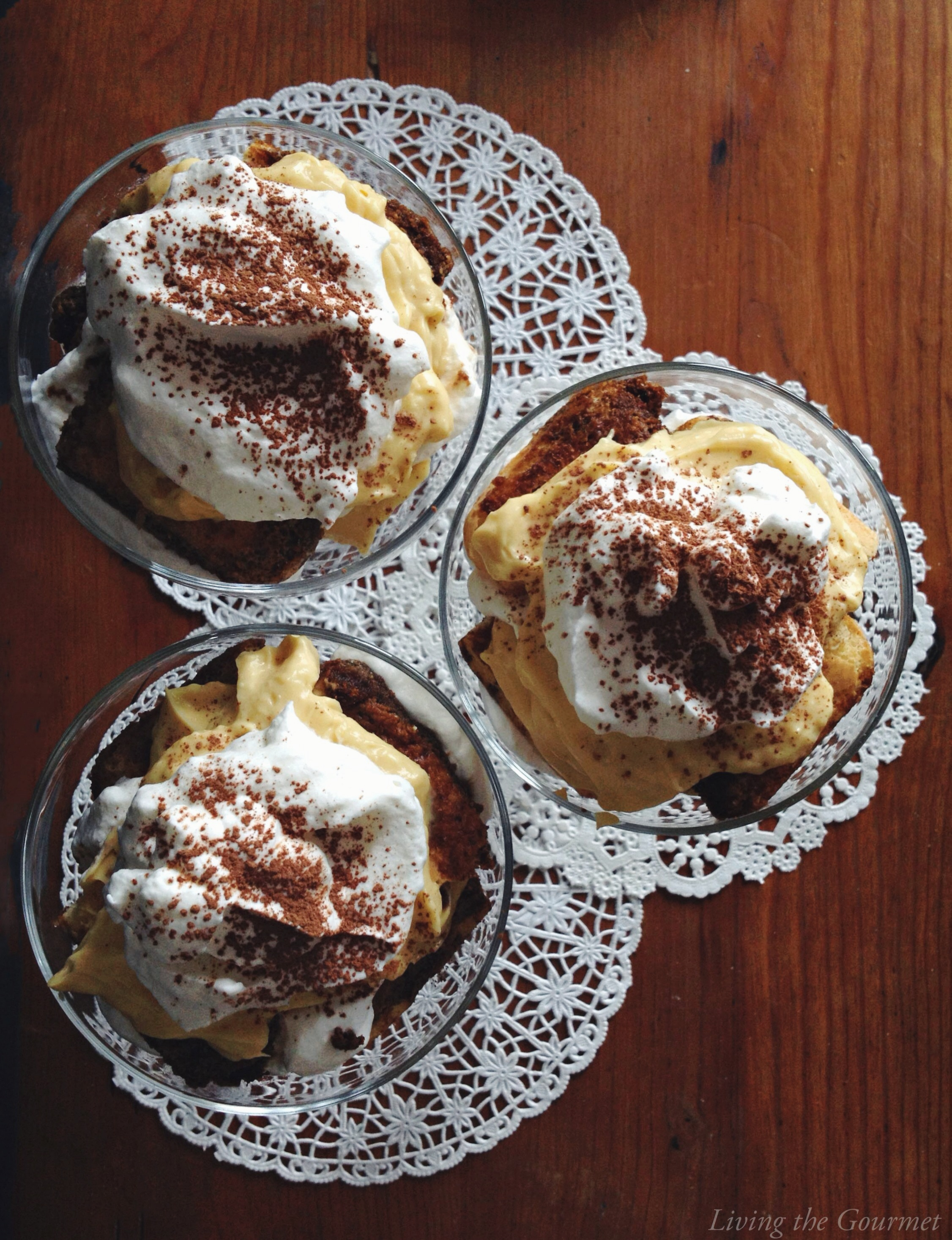 Living the Gourmet: Easy Tiramisu
