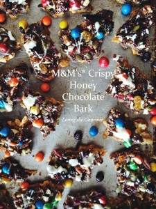 M&M's® Crispy Honey Chocolate Bark