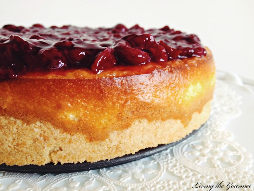 Cherry Ricotta Cake