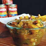 Mango & Diced Tomato Salsa with Fresh Flatbread