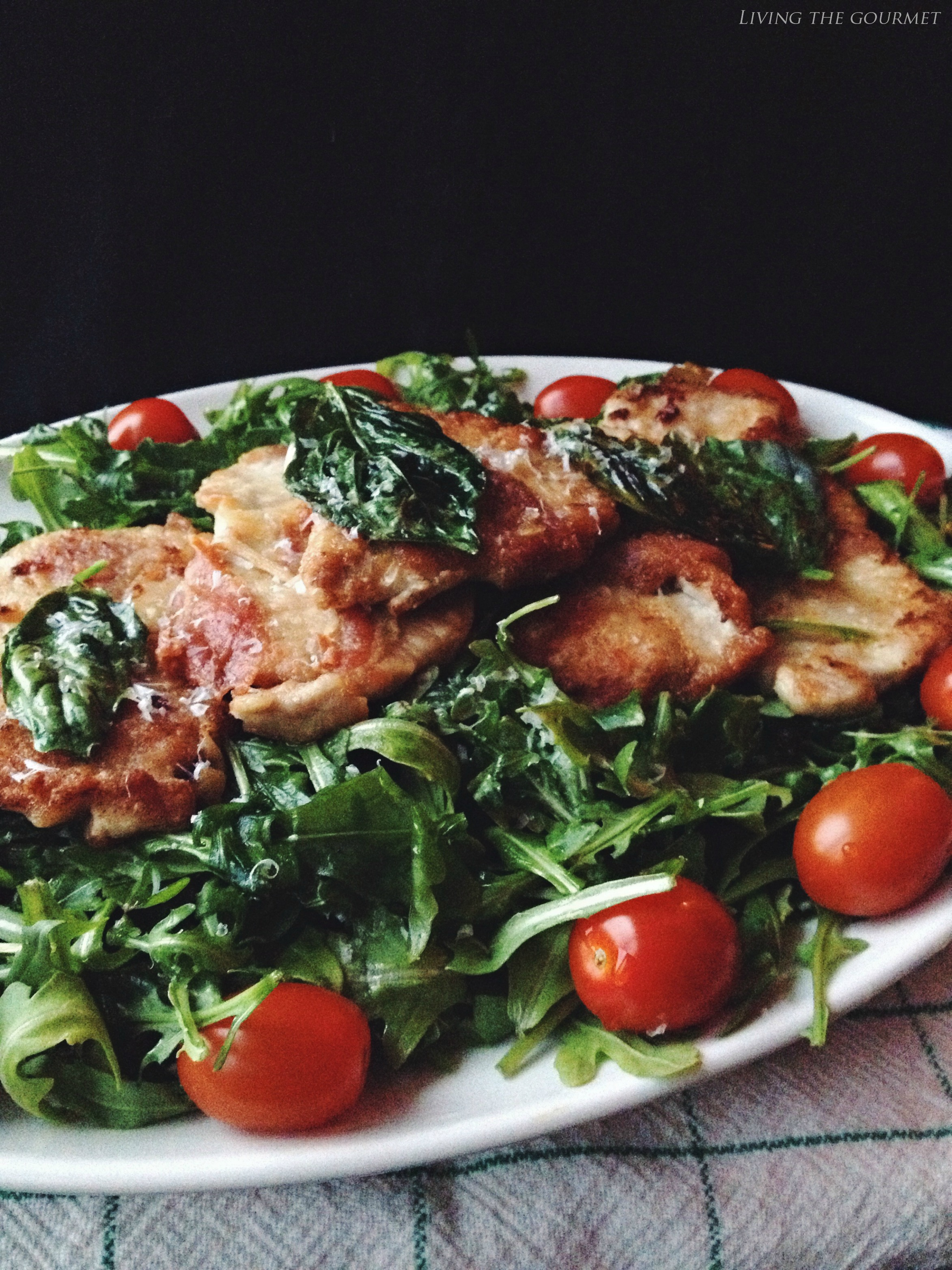 Living the Gourmet: Pork Saltimbocca