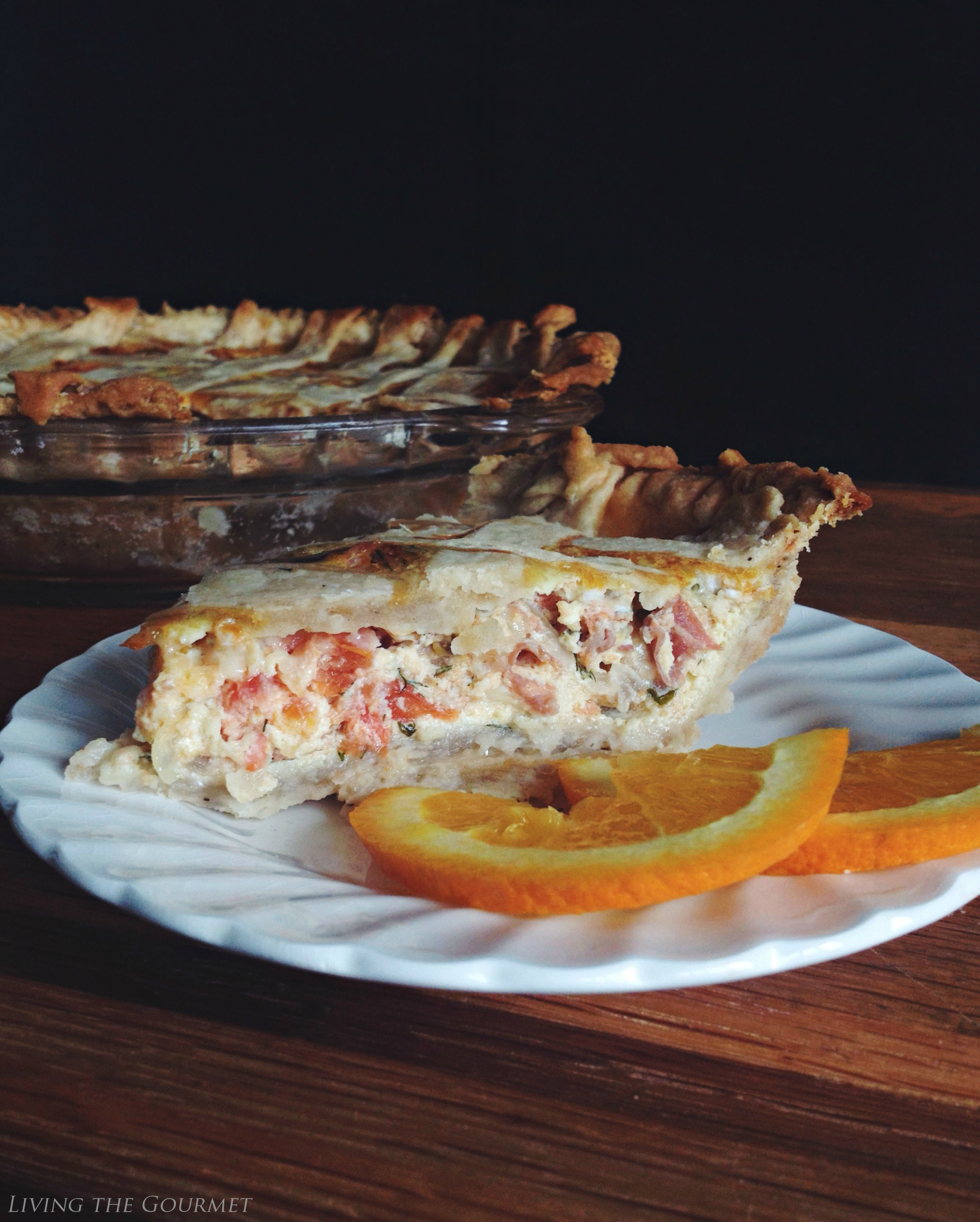 Living the Gourmet: Proscuitto and Grand Cru Cheese Quiche