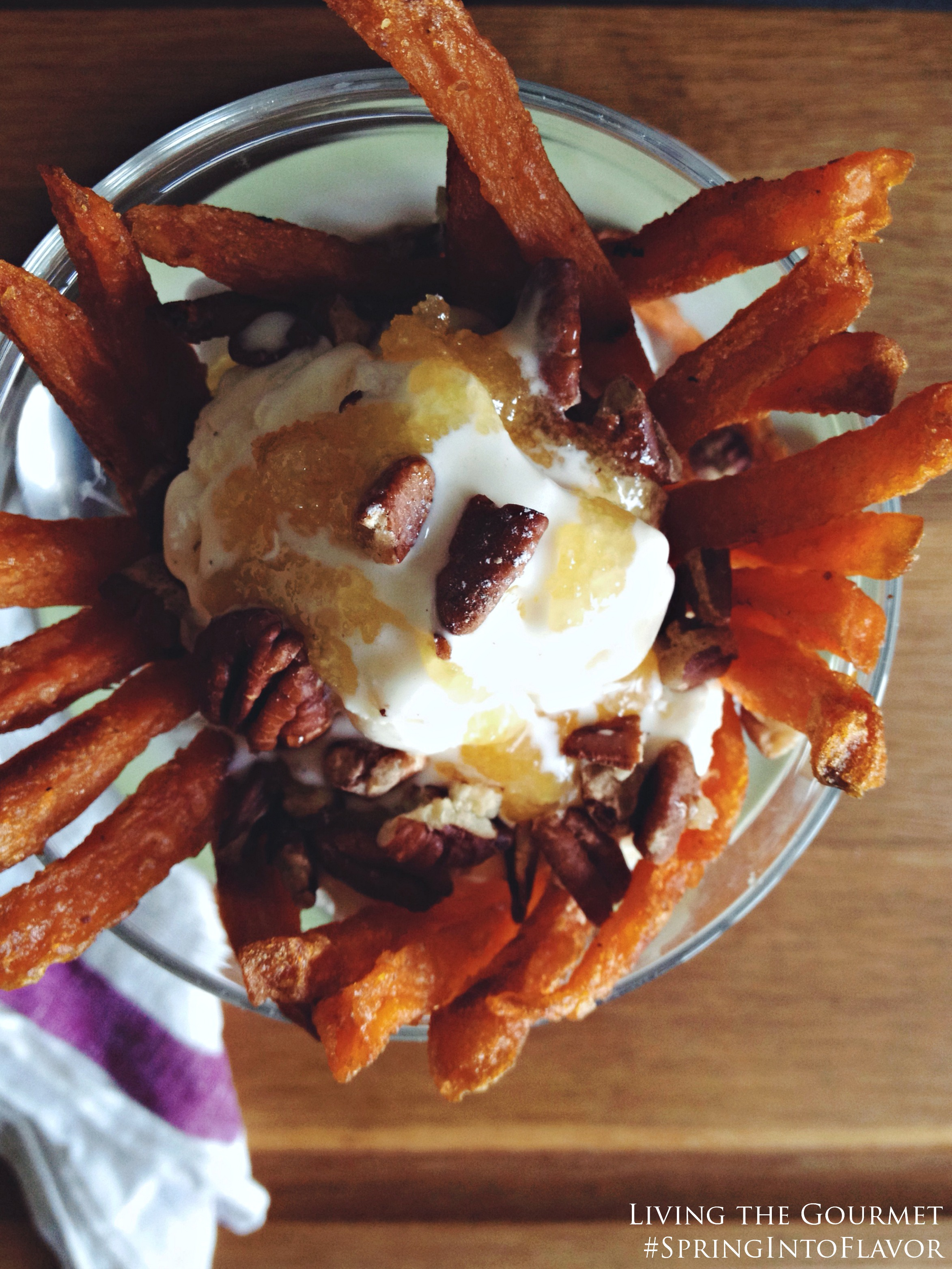 Living the Gourmet: Sweet Potato Sundae