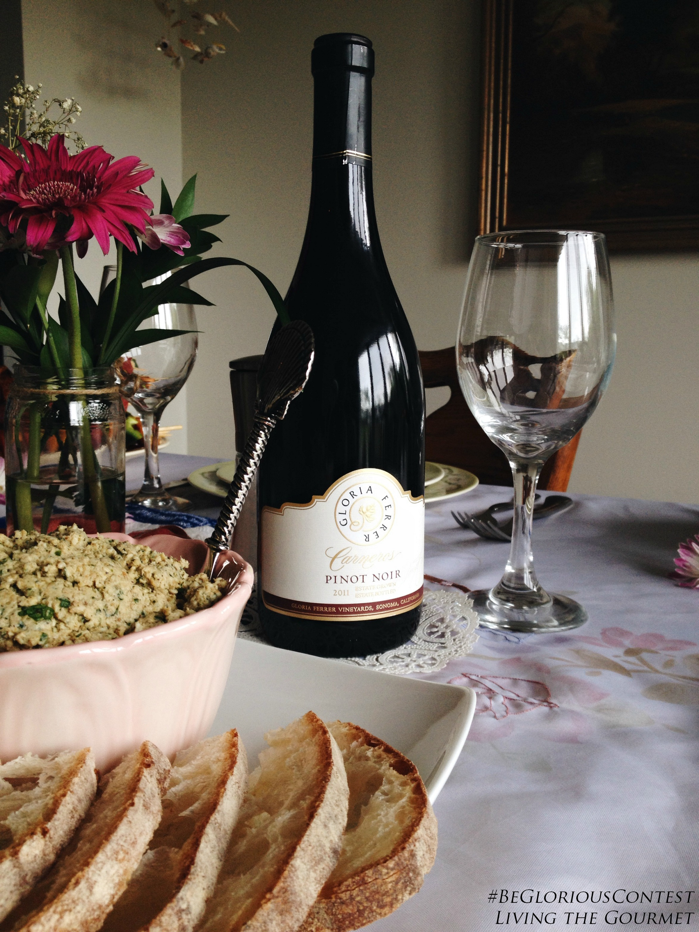 Living the Gourmet: A Fashionable Luncheon with Gloria Ferrer Wines |  #BeGloriousContest | #CleverGirls