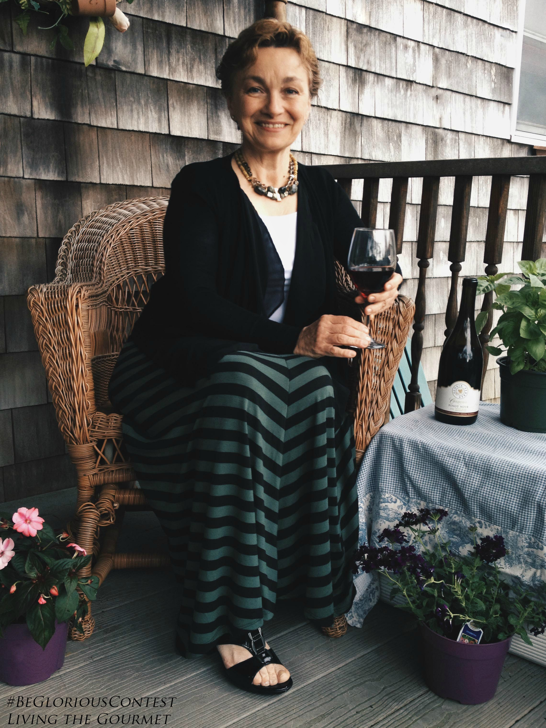 Living the Gourmet: A Fashionable Luncheon with Gloria Ferrer Wines |  #BeGloriousContest #CleverGirls