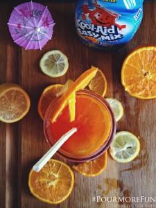 Kool-Aid Summer: Chicken Tenders, Tropical Punch Spritzer & Cherry Cream Ice Cream