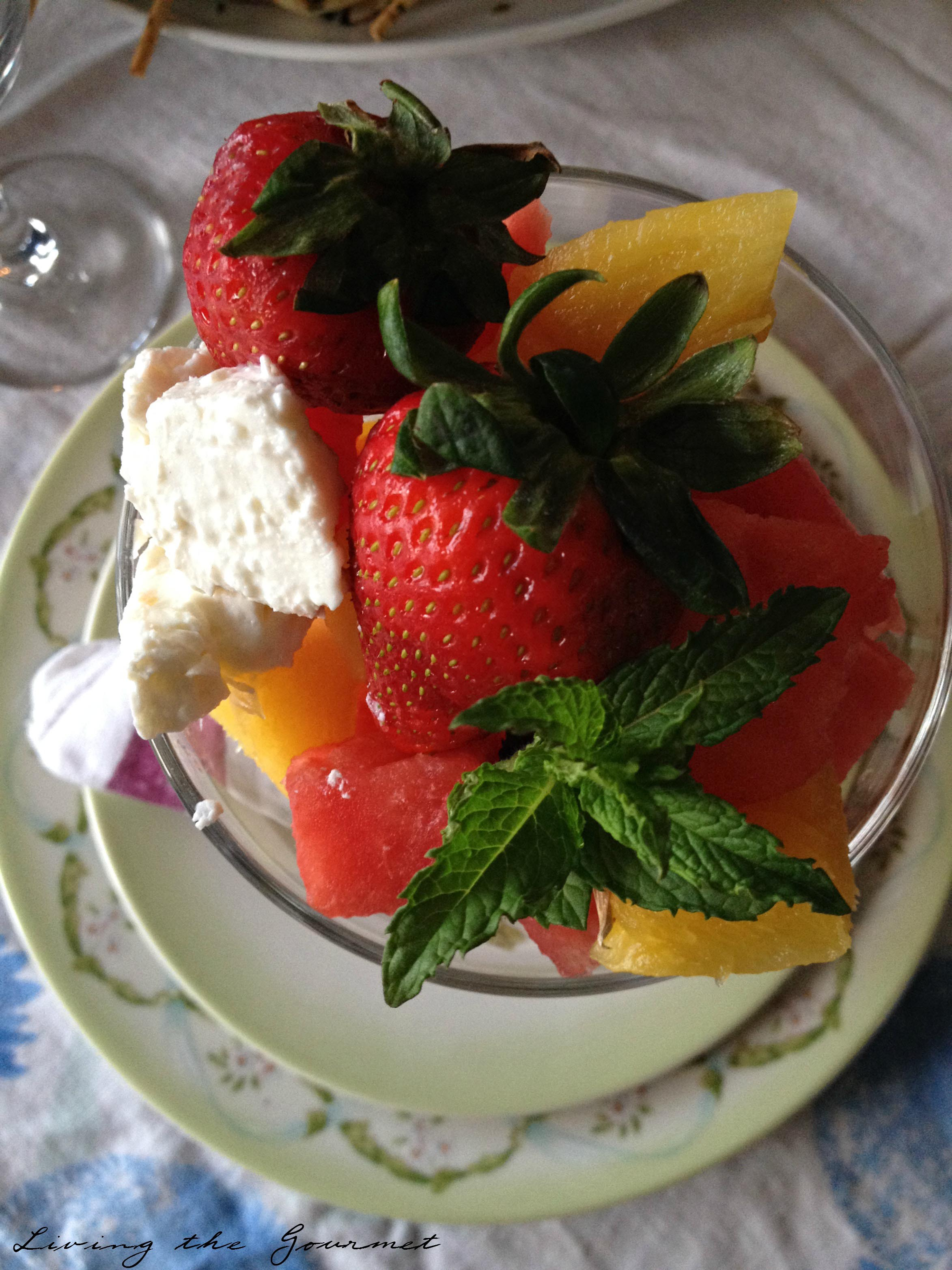Living the Gourmet: Fruit Salad  #SiWhatsNext #CG