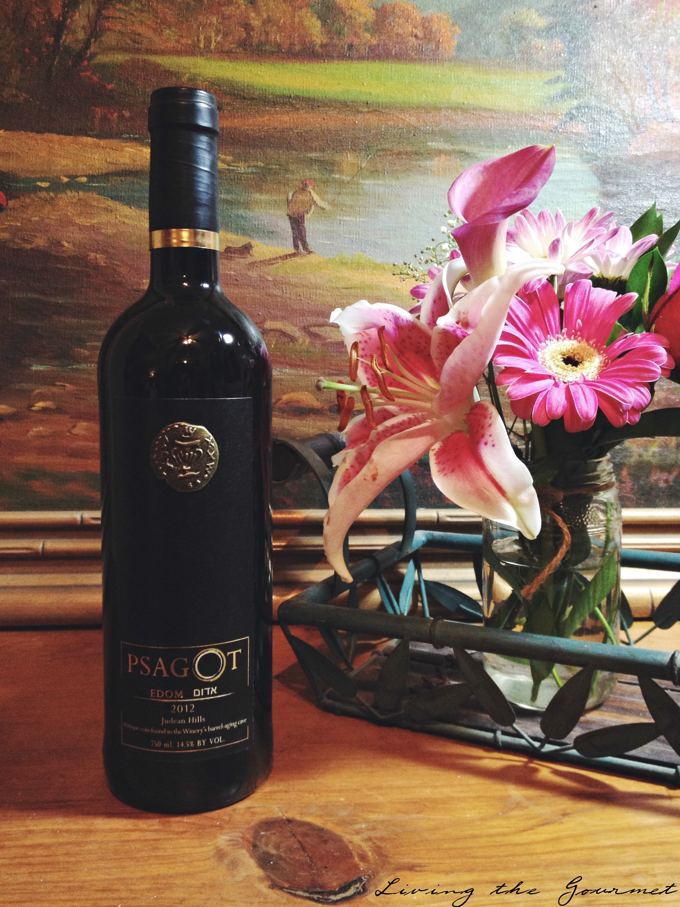 Living the Gourmet: Psagot's Edom   #WineWeek #LTG
