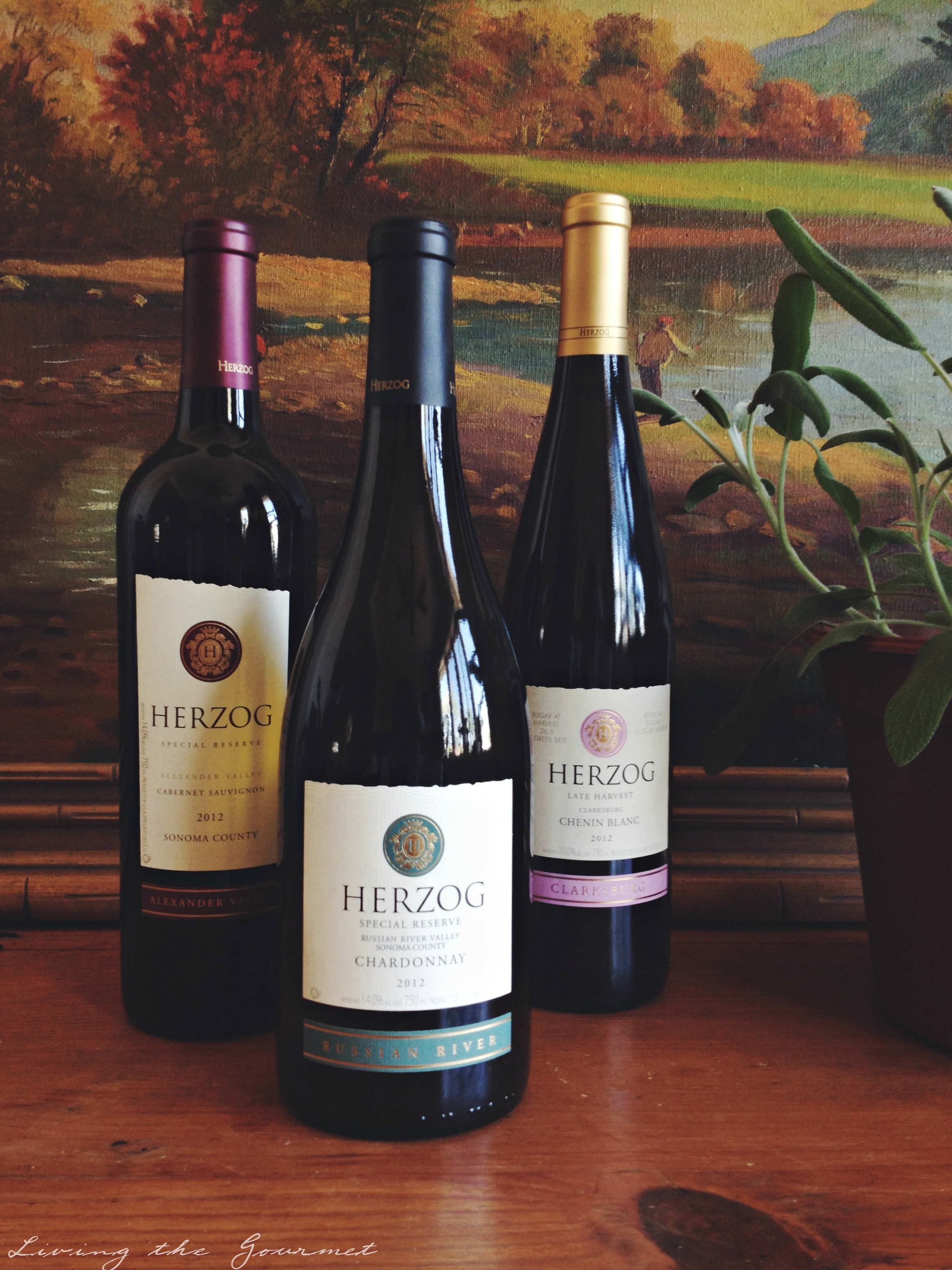 Living the Gourmet: Herzog Wines #WineWeek #LTG