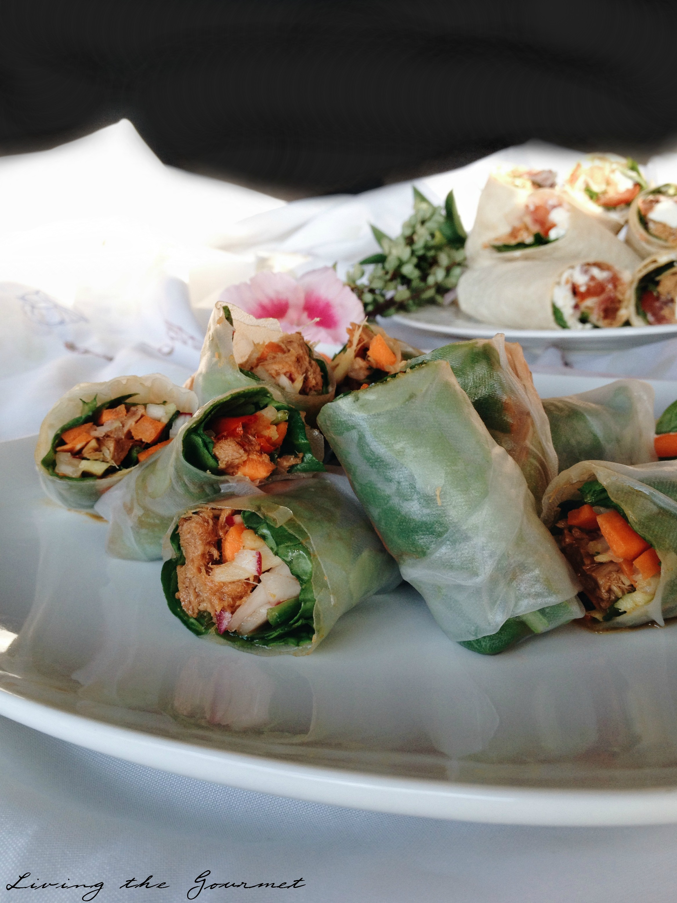 Living the Gourmet: Bumble Bee® Tuna Wraps Medley #TunaStrong #CG